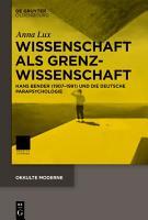Wissenschaft als Grenzwissenschaft PDF