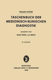 Taschenbuch der Medizinisch-Klinischen Diagnostik: Ausgabe 67