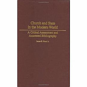 Church and State in the Modern World PDF