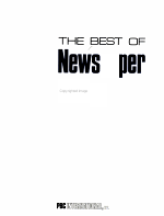 The Best of Newspaper Design PDF