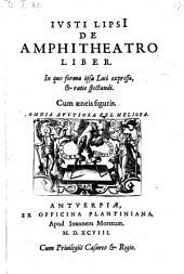 De amphitheatro liber