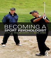 Becoming a Sport Psychologist PDF