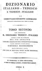 Dizionario italiano-tedesco e tedescoitaliano di Cristiano Giuseppe Jagemann: Volume 2