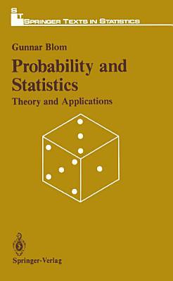 Probabitily and Statistics