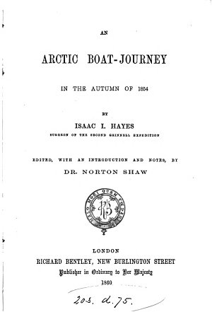 An Arctic Boat journey in the Autumn of 1854 PDF