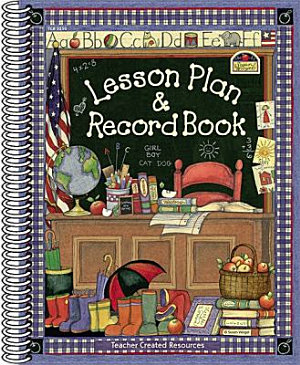 Susan Winget Lesson Plan   Record Book