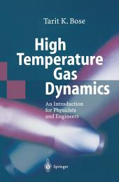 High Temperature Gas Dynamics
