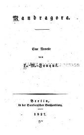 Mandragora: Eine Novelle