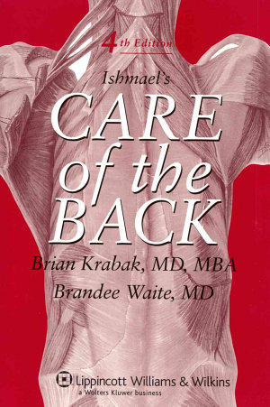 Ishmael s Care of the Back
