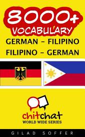 8000+ German - Filipino Filipino - German Vocabulary