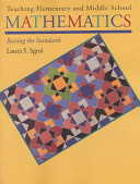 Teaching Elementary And Middle School Mathematics Book PDF