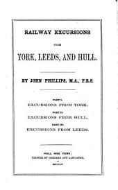 Railway excursions from York, Leeds and Hull