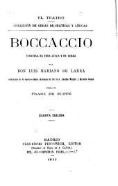 Boccaccio: zarzuela en tres actos y en verso
