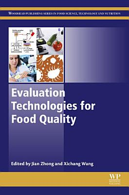 Evaluation Technologies for Food Quality