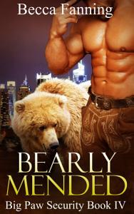 Bearly Mended  BBW Bear Shifter Bodyguard Hero Romance