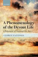 A Phenomenology of the Devout Life PDF