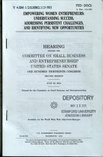 Empowering Women Entrepreneurs PDF