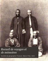 Recueil de voyages et de mémoires: Volume8