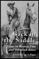 Back in the Saddle PDF