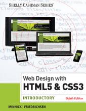 Web Design with HTML & CSS3: Introductory: Edition 8