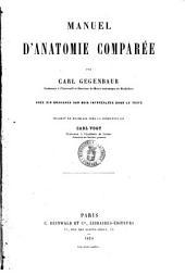 Manuel d'anatomie comparee par Carl Gegenbaur