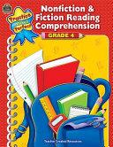 Nonfiction   Fiction Reading Comprehension  Grade 4 PDF