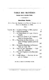 Histoire des luttes et rivalités politiques entre les puissances maritimes et la France durant la seconde moitié du XVIIe siècle: Volume2