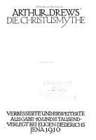 Die Christusmythe PDF