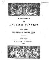 Specimens of English Sonnets