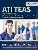 ATI TEAS Test Study Guide Book