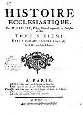 Histoire ecclésiastique: Depuis l'an 429 jusques à l'an 483