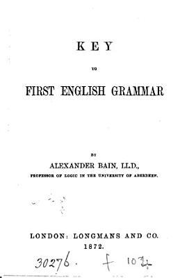A first English grammar  Key PDF