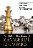 The Oxford Handbook of Managerial Economics PDF