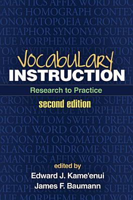 Vocabulary Instruction  Second Edition
