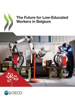 The Future for Low-Educated Workers in Belgium