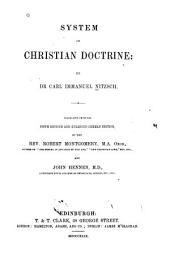 System of Christian Doctrine