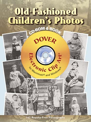 Old Fashioned Children s Photos CD ROM and Book PDF