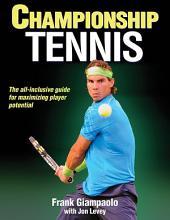 Championship Tennis (iBooks Enhanced Edition)