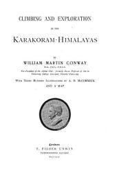 Climbing and Exploration in the Karakoram-Himalayas: Volume 1