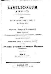 Basilicorum libri LX: Volume 5