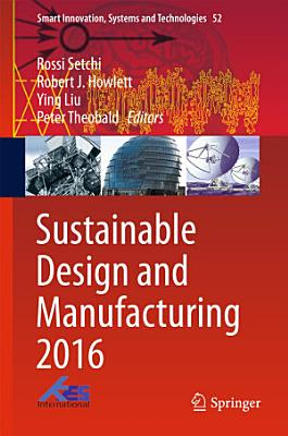 Sustainable Design and Manufacturing 2016 PDF