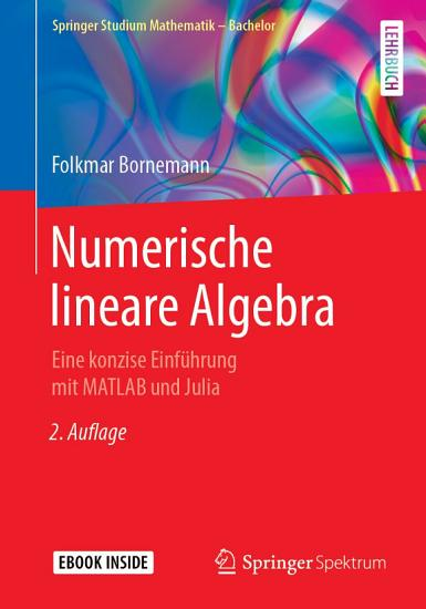Numerische lineare Algebra PDF