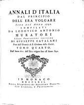 Annali d'Italia: Dall'anno 601 dell'era volare fino all'anno 840