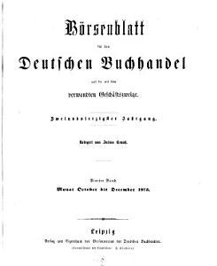 B  rsenblatt f  r den deutschen Buchhandel0 PDF