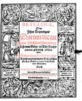 Betglock oder 10 Betpredigen     PDF