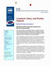 Livestock, Dairy, and Poultry Outlook Jan. 26, 2005