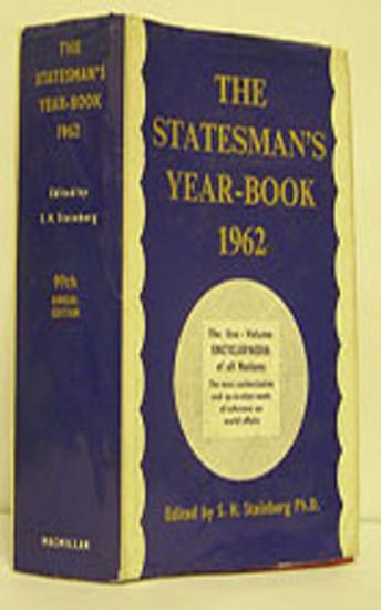The Statesman s Year Book 1962 PDF