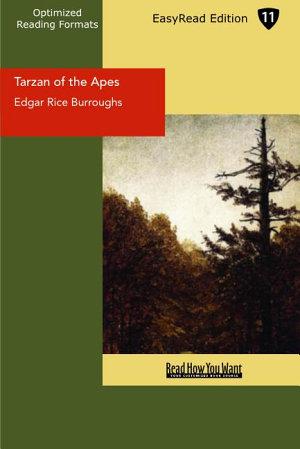 Tarzan of the Apes  EasyRead Edition  PDF