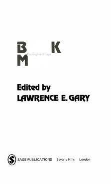 Black Men PDF