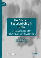 The State of Peacebuilding in Africa PDF